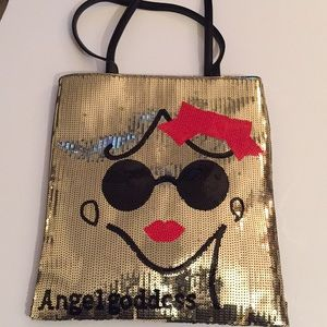 Handbags - Sequin tote bag